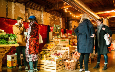 winter fare local food holiday market