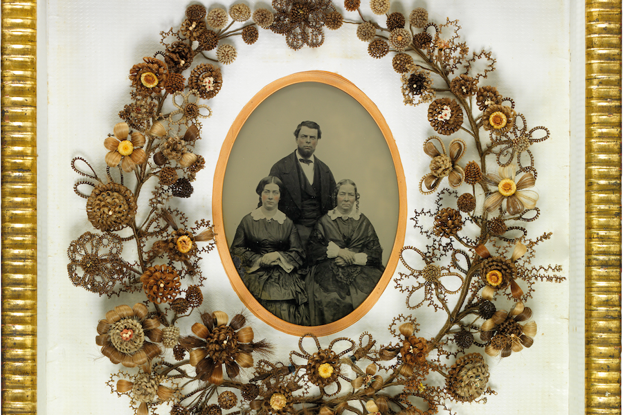 Victorian Hair Art Was Often Made By Women As An Expression Of Mourning Mutter Museum
