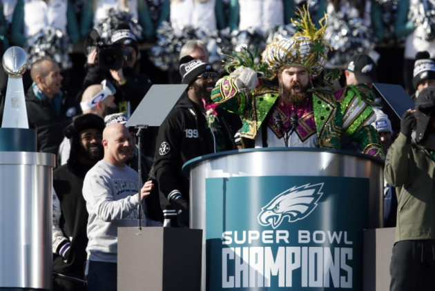 Jason Kelce to March With Mummers This Weekend In Manayunk