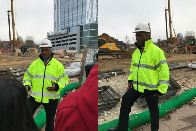 I Love My Job: Construction Maven Angelo Perryman Is Behind Philly's New LOVE Park