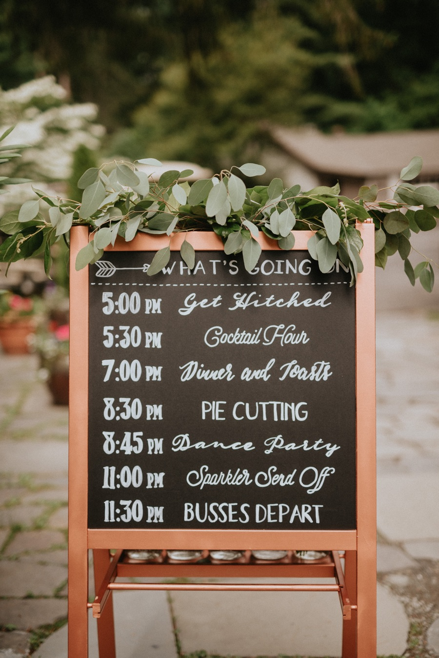 8 Post A Schedule Of Events
