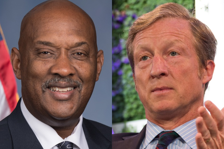 impeach trump, party to impeach, dwight evans, tom steyer