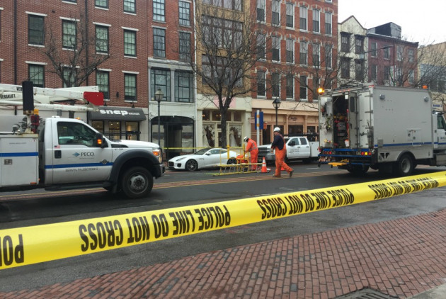 Exploding Manhole Closes Part of Market Street in Old City