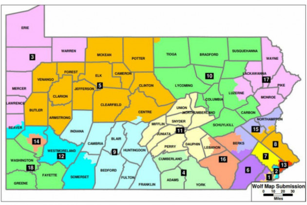 Wolf, Democratic Lawmakers Submit Congressional Map Proposals