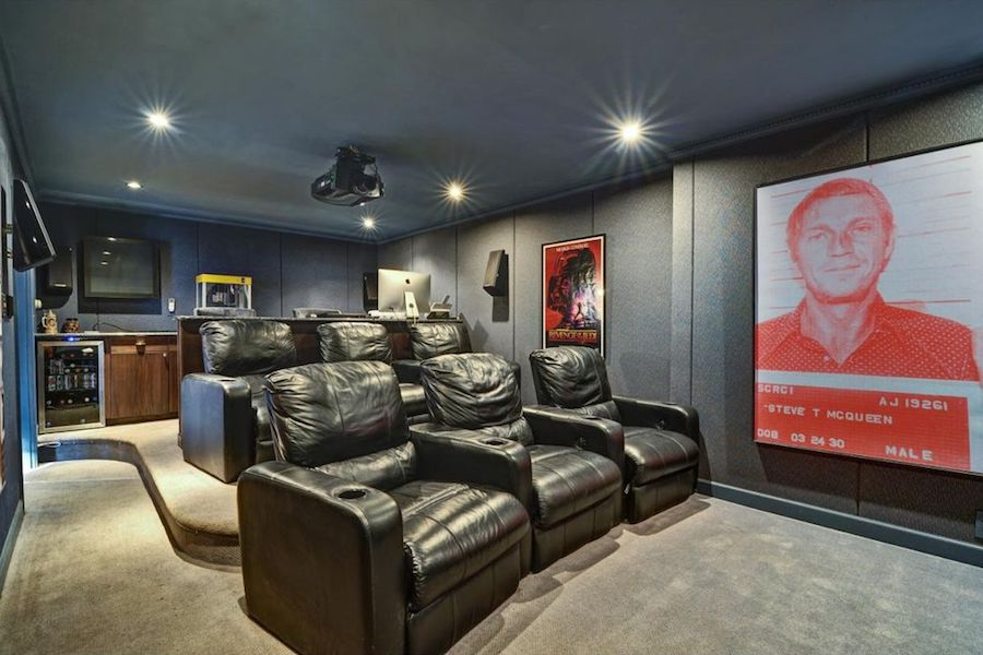 5 area homes with seriously luxe home theaters