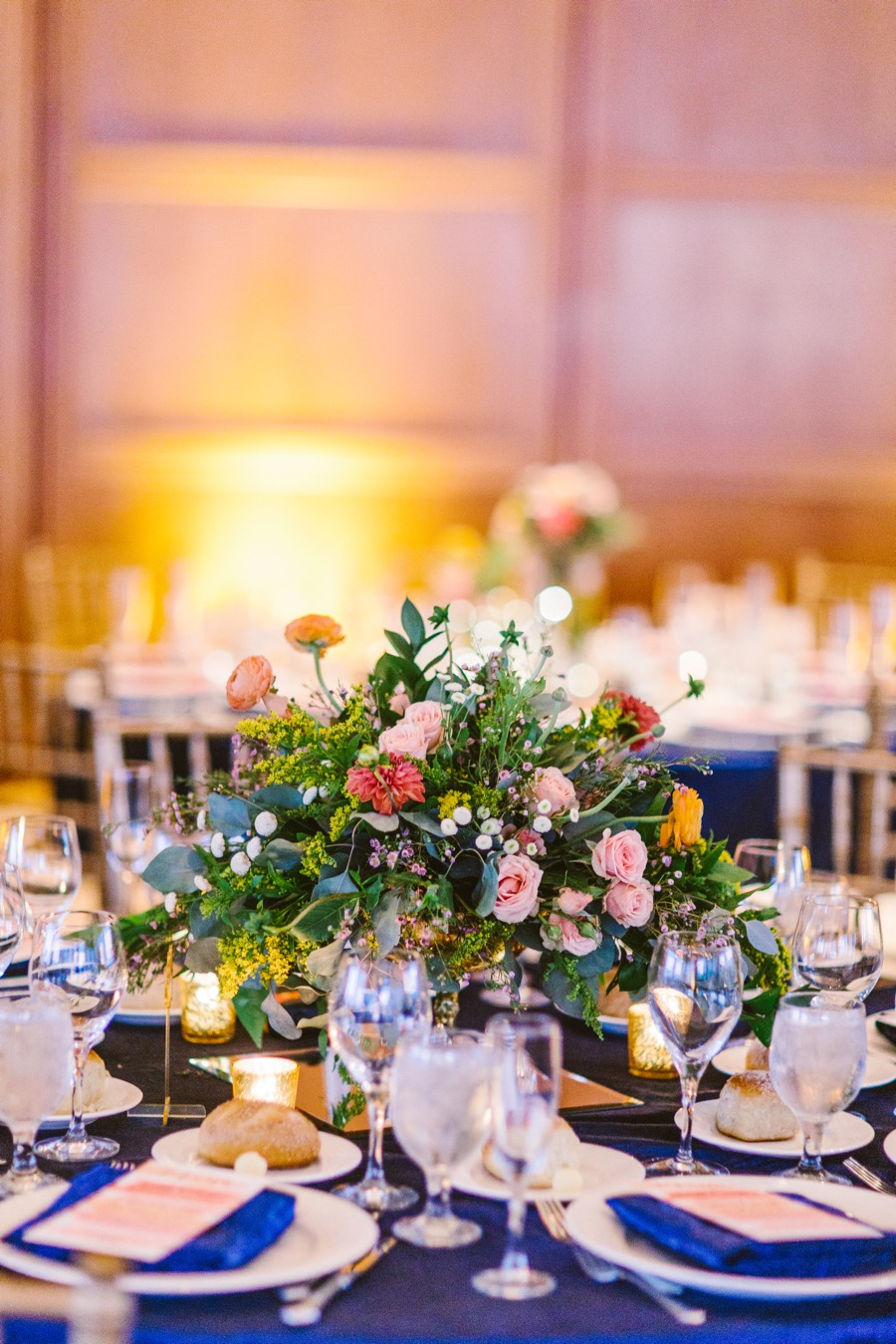 A Colorful Philadelphia City Wedding Filled With Ombr Decor