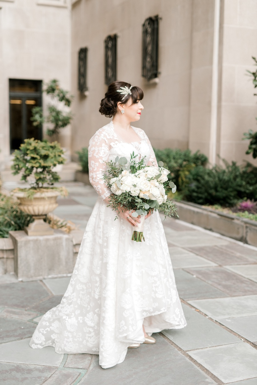 An Elegant Surprise Wedding at Philadlephia\'s Stotesbury Mansion