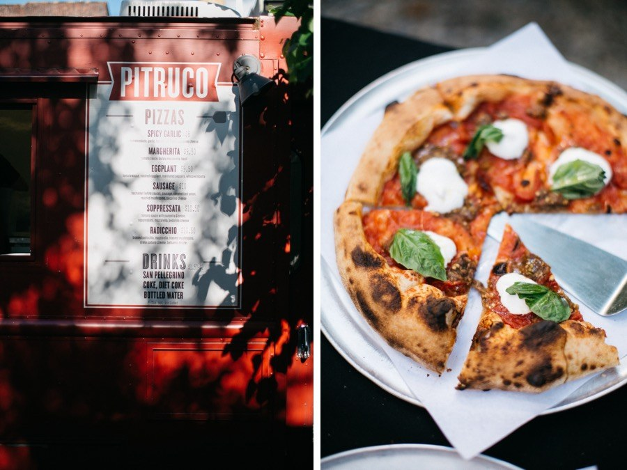 Pizza Donuts And Beer Dominated The Dinner Menu At This Rad Boho