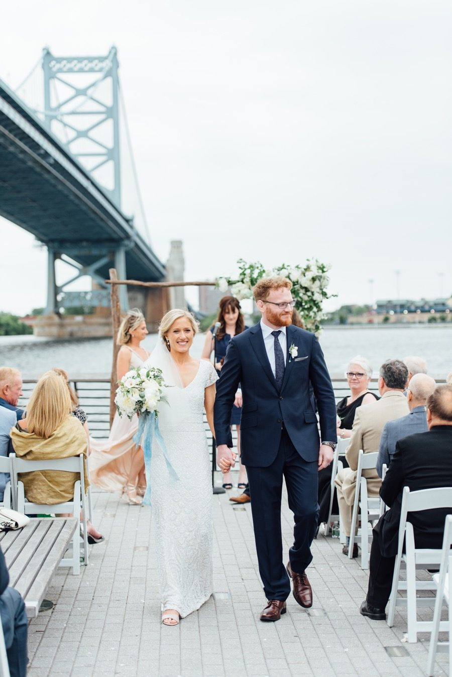 This Old City Wedding Perfectly Blends Rustic Chic with City Cool ...