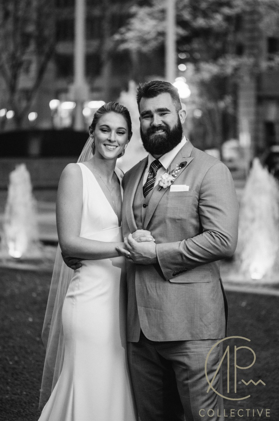 Photos Jason Kelce Got Married In Philly This Weekend
