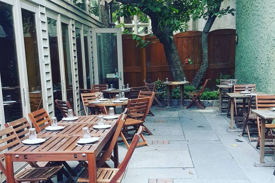 restaurants with outdoor seating