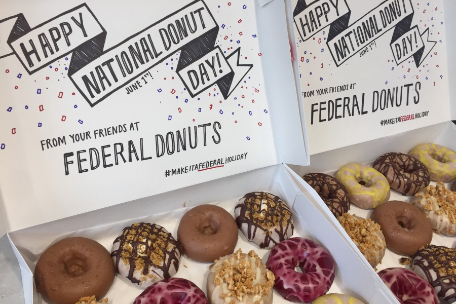 national donut day, donuts