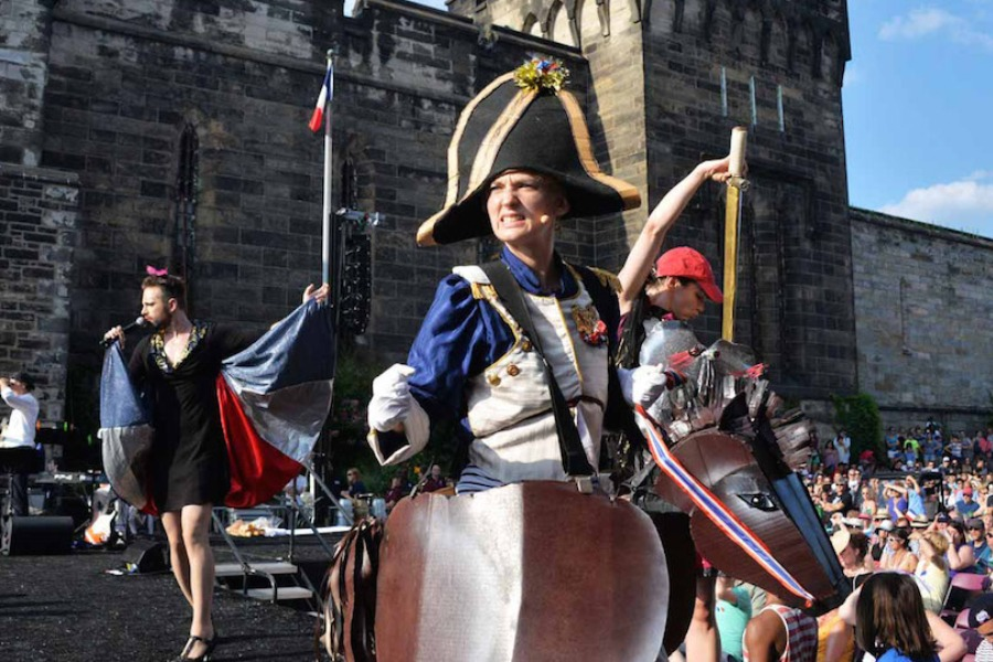bastille day, eastern state penitentiary