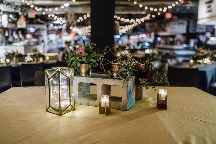 A Fun Summer Wedding At Philadelphias Reading Terminal Market