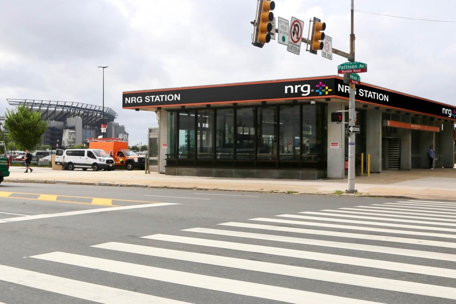 SEPTA, AT&T Station, NRG Station