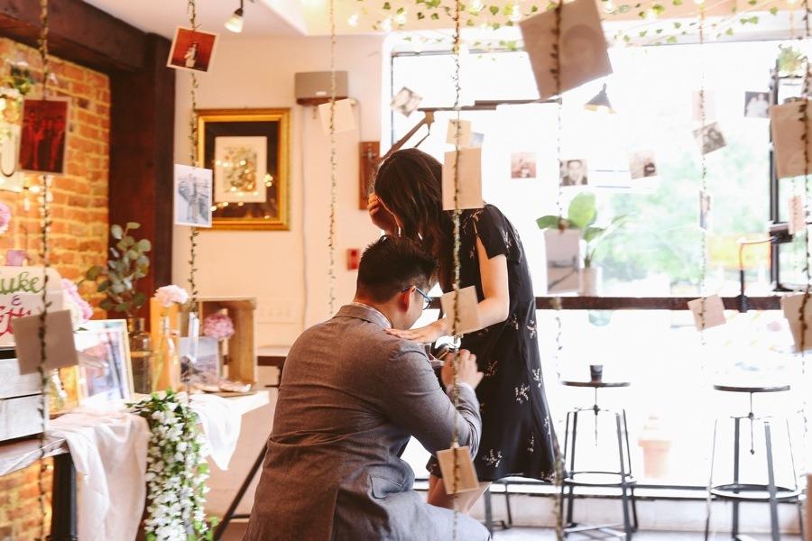 coffee shop proposal