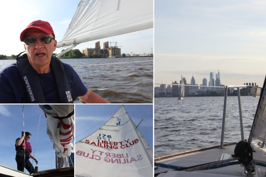 sailing, boating, delaware river, schuylkill river, philly rivers