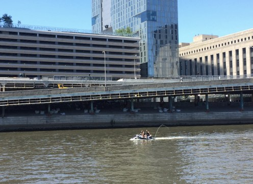 Sailing on the Delaware and Schuylkill Rivers in Philadelphia
