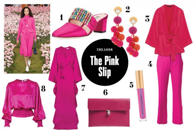 magenta outfit ideas summer fall t