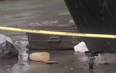 body, suitcase, southwest philadelphia