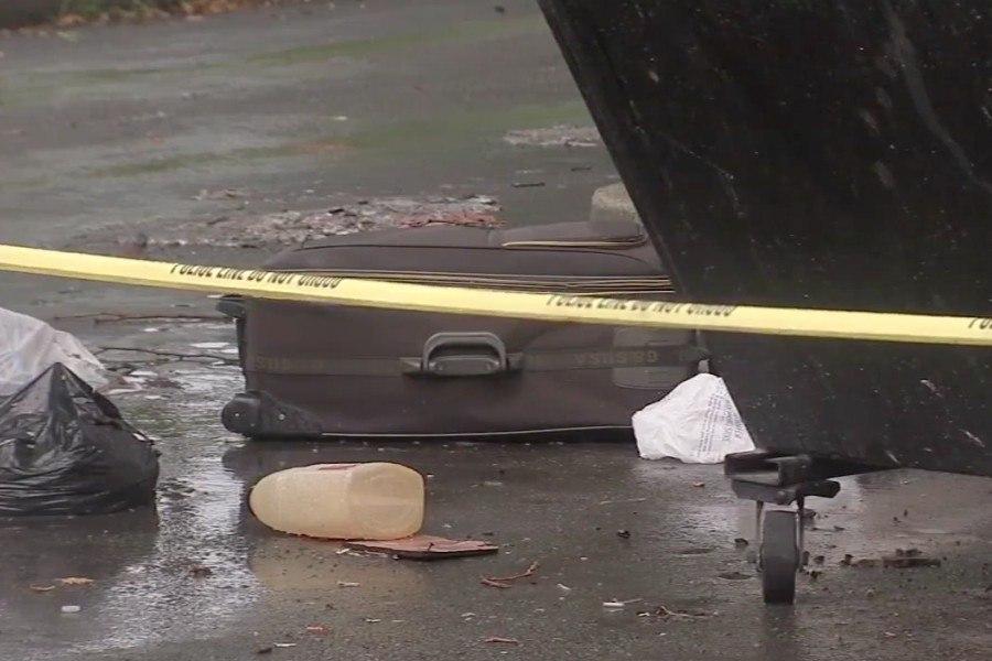body, human remains, suitcase, southwest philadelphia