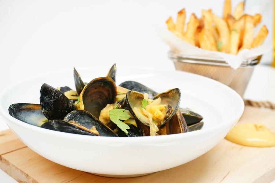 bistro perrier mussels
