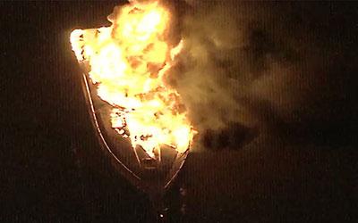 boat fire delaware river t