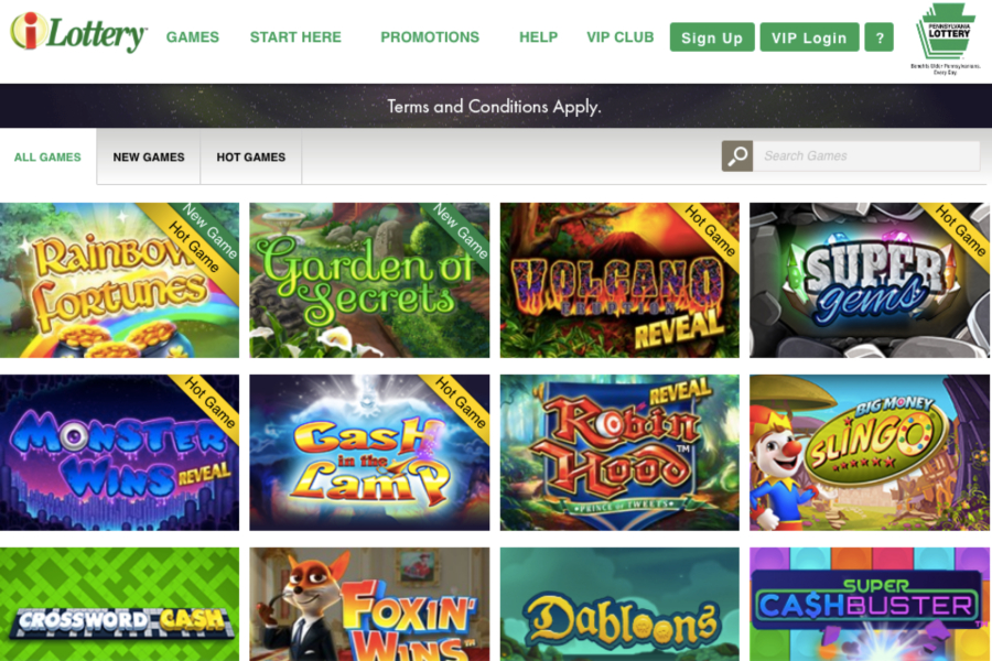 online casino games pa