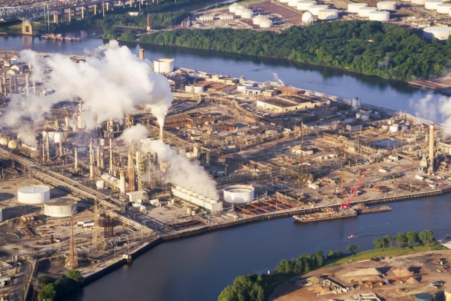 climate change report, philadelphia energy solutions