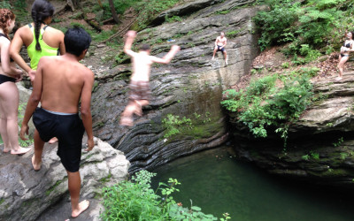 devil's pool, wissahickon