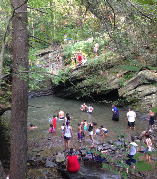 City to Block Weekend Access to Devil's Pool in the Wissahickon