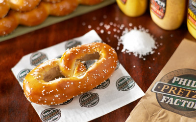 free philly pretzel, philly pretzel factory
