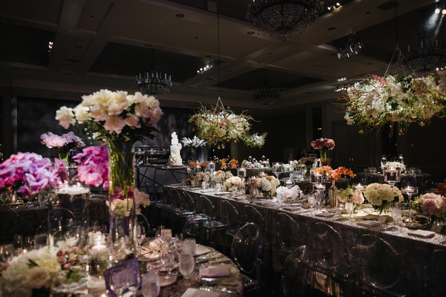 glam logan hotel wedding
