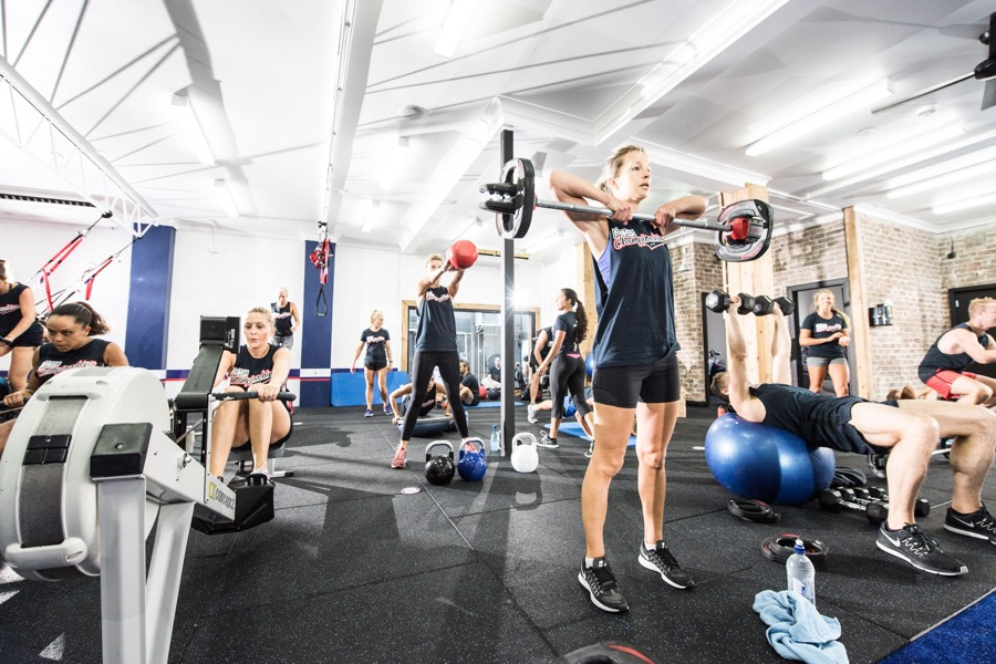 hiit workouts f45 training