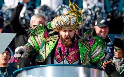 jason kelce super bowl parade speech