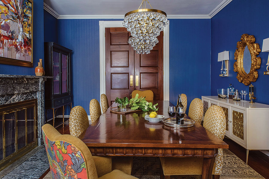 michele plachter interior design dining room
