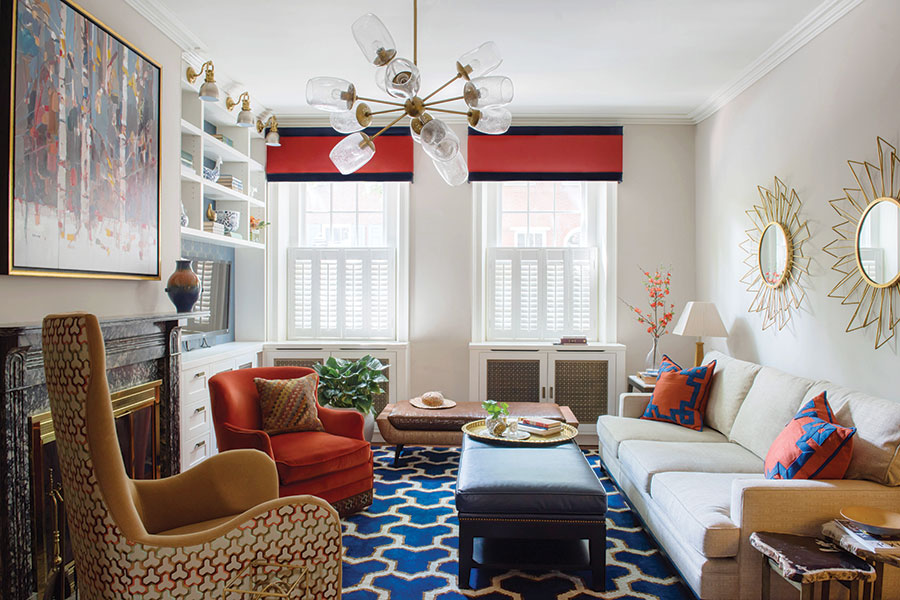 A Society Hill Townhome Makeover by Interior Designer Michele Plachter
