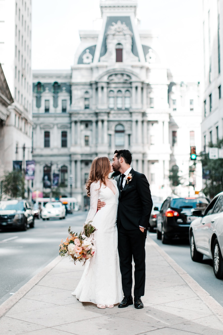 We Love This Chic, Modern (And Totally Philly) Cricket Club Wedding