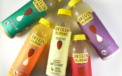 origin almond juice