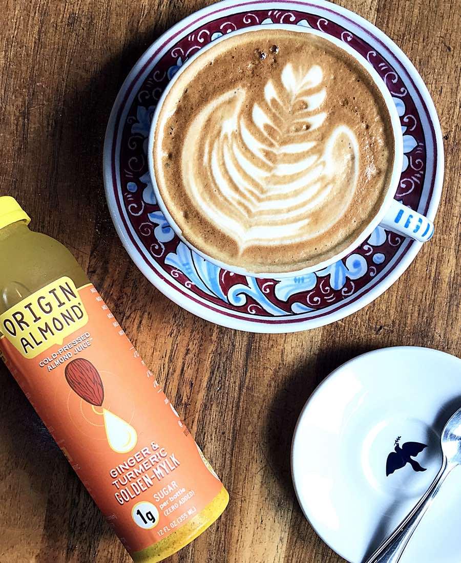 origin almond juice