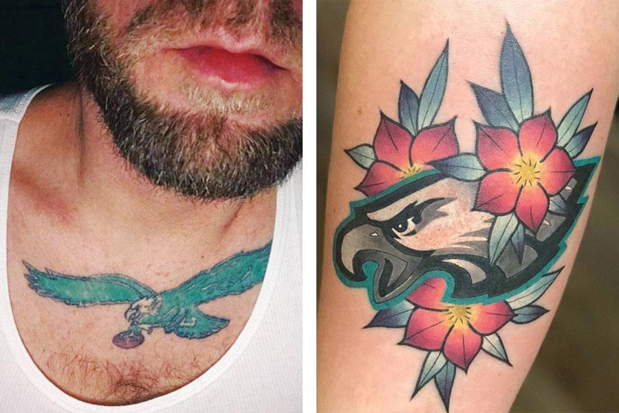 philadelphia eagles tattoos 6