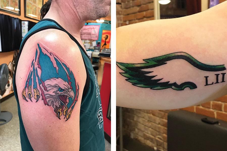 philadelphia eagles tattoos 8