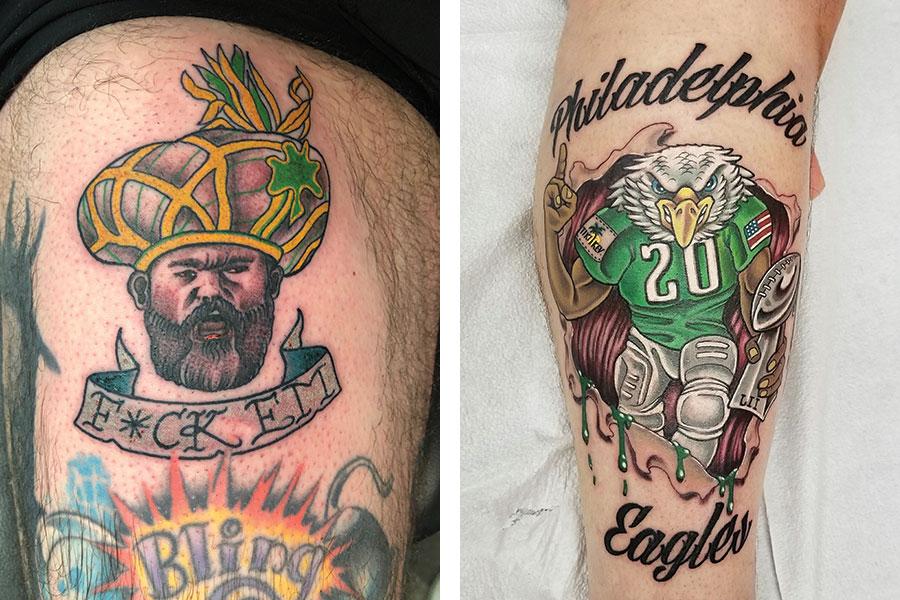 philadelphia eagles tattoos 9