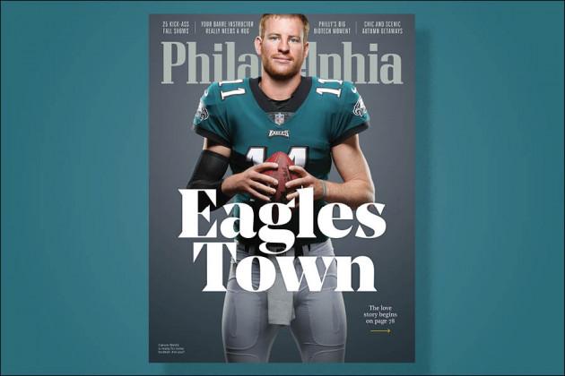 philadelphia magazine september issue eagles