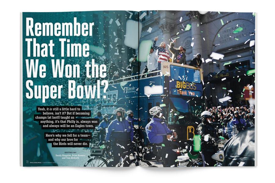 philadelphia magazine september issue eagles super bowl