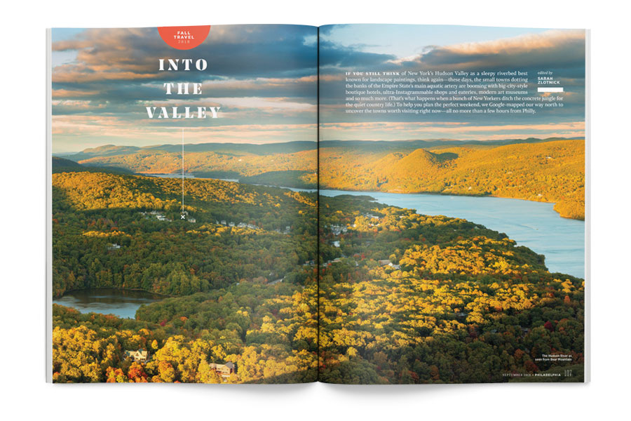 philadelphia magazine september issue fall travel