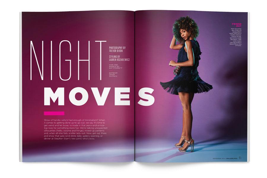 philadelphia magazine september issue fashion