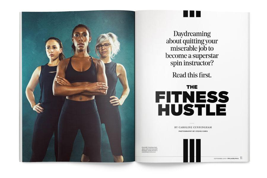 philadelphia magazine september issue spin instructor