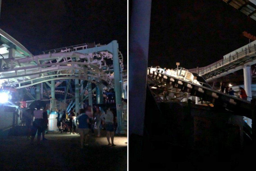 roller coaster, wildwood