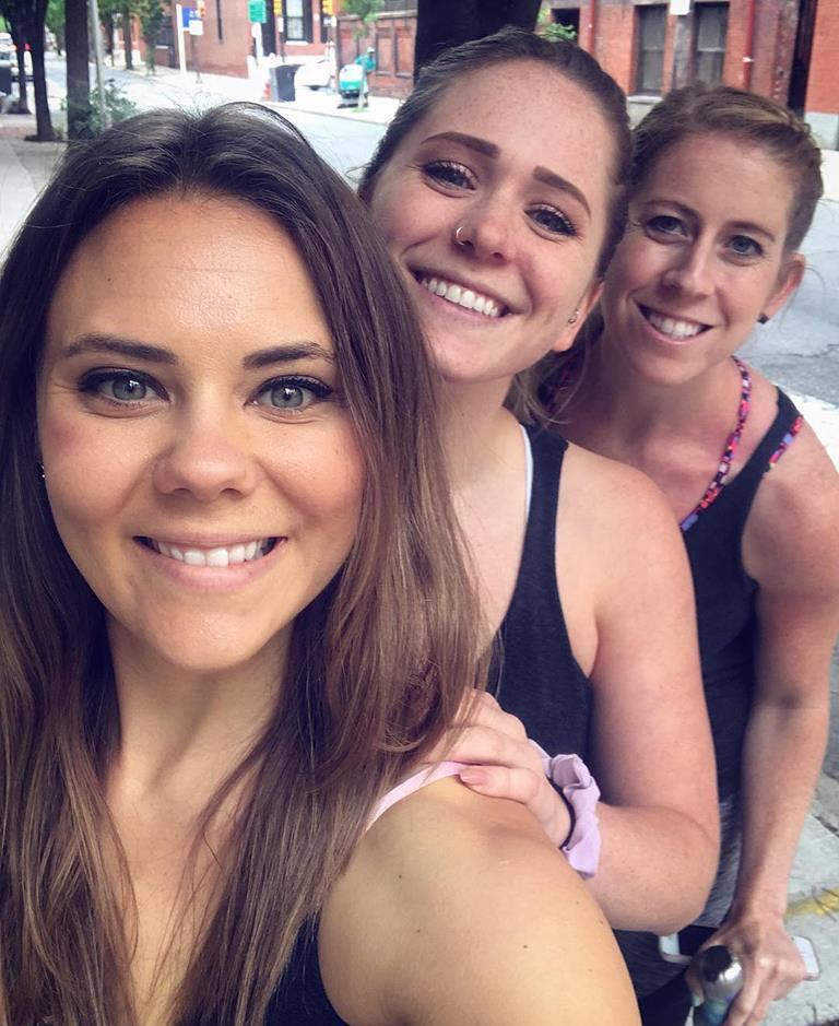 Zoe, Kate, Ivy